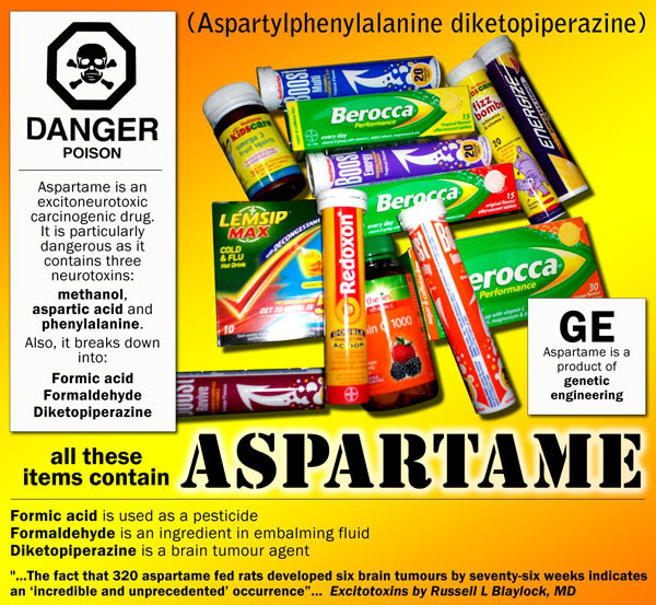 Aspartame has been Renamed and is Now Being Marketed as a Natural Sweetener