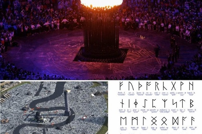 Illuminati Occult Symbolism in London Olympics Opening Ceremony