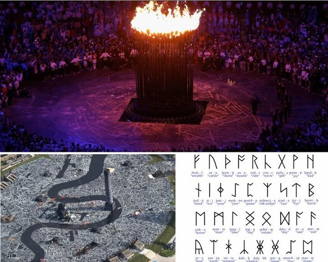 Illuminati Occult Symbolism in The 2012 London Olympics Opening Ceremony