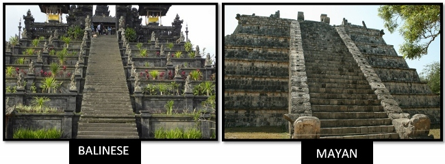 Twin Ancient Cultures On Opposite Sides Of The Pacific