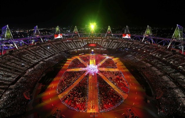 Illuminati Occult Symbolism in London's Olympic Closing Ceremony