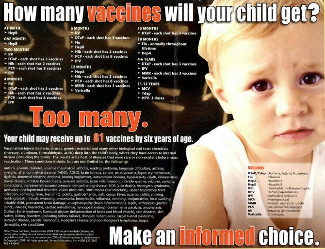 50 Reasons NOT to Vaccinate Your Children 155307_10152209229430154_1812822417_n-670x513