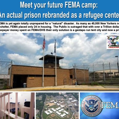 Meet your Future FEMA Camp: An actual Prison Rebranded as a Refugee Center