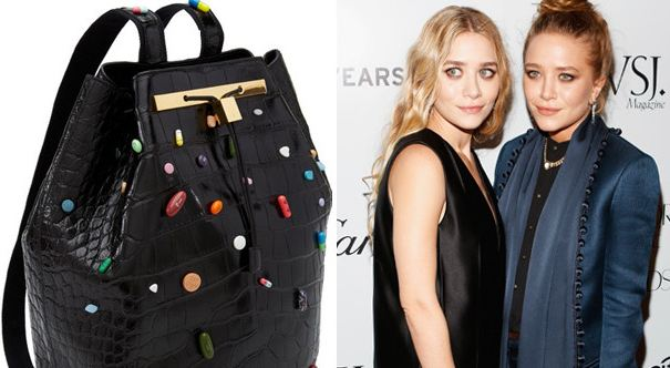 Big Pharma Culture: Olsen Twins Designer Bag Lined with Prescription Drugs Sell for $55k Each