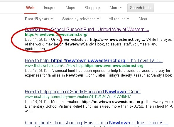 Sandy Hook Fundraising Relief Page Created 3 Days Before Shooting, Google Search Results Confirm