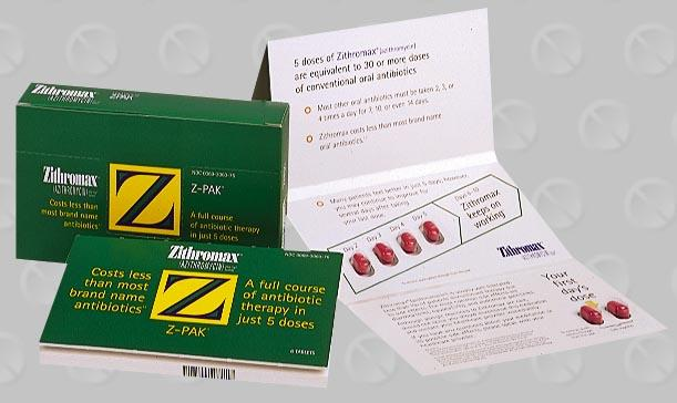 Zithromax tri pak vs z pak antibiotic azithromycin