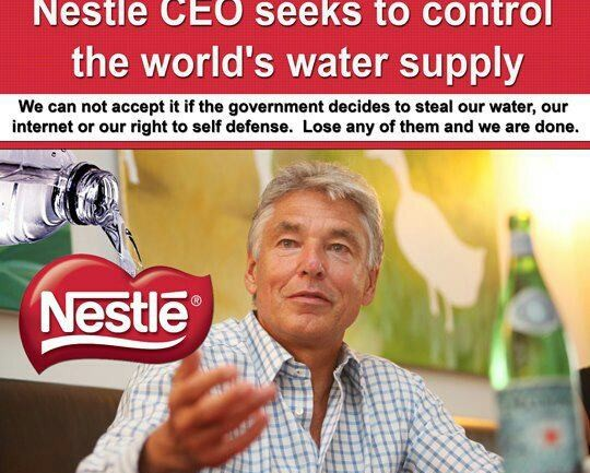 Nestlé Denies that Water is a Fundamental Human Right & Accused Of Exploiting Water Supplies