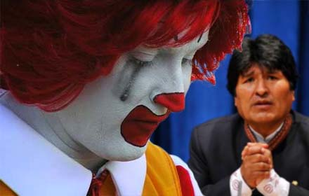 McDonald's Closes All Their Restaurants in Bolivia