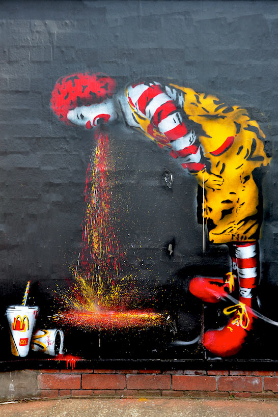 ronald-mcdonald-vomiting