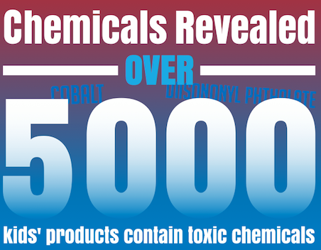Thousands of Kids' Products Contain Toxic Chemicals