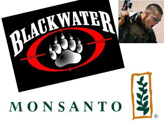 'Monsanto' hires infamous mercenary firm 'Blackwater' to track Activists around the World