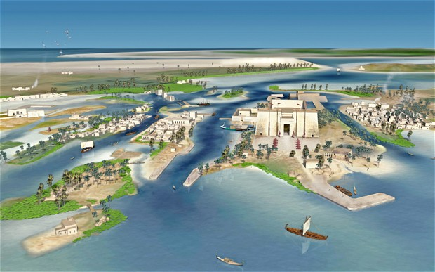 Lost Egyptian City Thonis-Heracleion Revealed After 1,200 Years Under Sea Heracleion-_2548190b