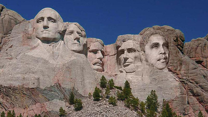 Will Obama end up on Mount Rushmore