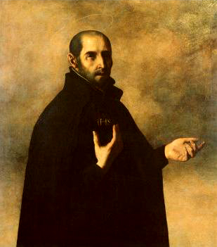 Ignatius-Loyola-by-Francisco-Zurbaran