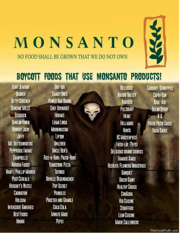 List-of-Monsanto-Products-to-boycott-that-have-GMOs
