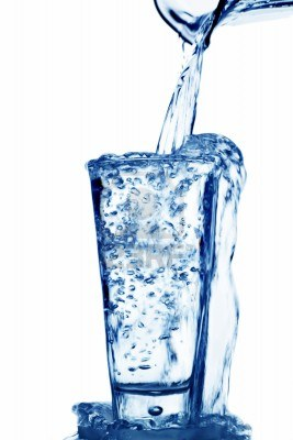 14359171-pure-and-clean-water-is-poured-into-a-glass-drinking-water-in-the-glass