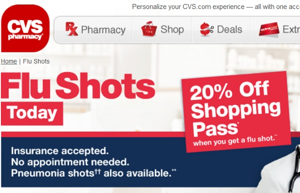 CVS Pharmacies Caught Lying About Risks of High-Dose Flu Vaccines Pushed onto Senior Citizens with Aggressive 'Bribery' Schemes