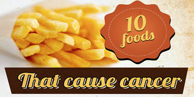 Top 10 Most Unhealthy, Cancer Causing Foods – Never Eat These Again