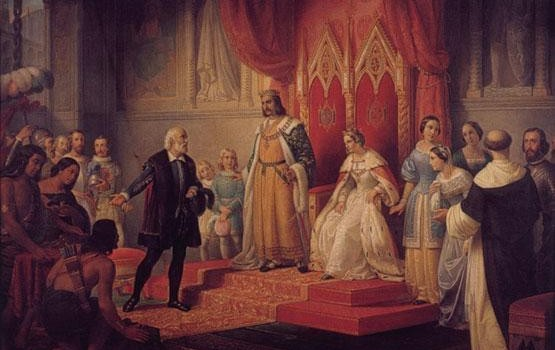 christopher-columbus-queen-isabella-native-americans