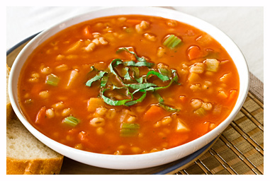 Detox Soup Recipes Vegetable-Barley-Soup-with-Tomato-Broth