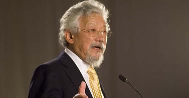 "Geneticist David Suzuki Says Humans ""Are Part Of A Massive Experiment"""
