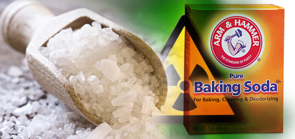 Sea Salt and Baking Soda Best All NaturalRemedy For Curing Radiation Exposure and Cancer