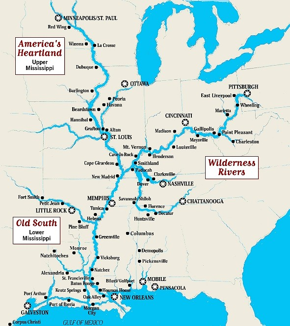 Map-of-mississippi-river-with-new-orleans-2 | WorldTruth.Tv