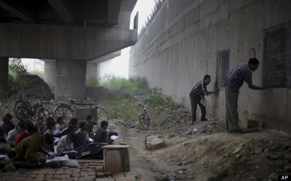 Teacher's Without Borders: A Free School Under a Bridge in India
