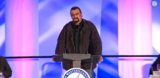 Actor Steven Seagal Believes Obama Should be Impeached