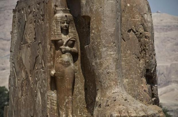 Two More Colossal Pharaoh Statues Unveiled in Egypt 8bd24b9950a83f7cbc7c9f8ce7fb79be26d094e9
