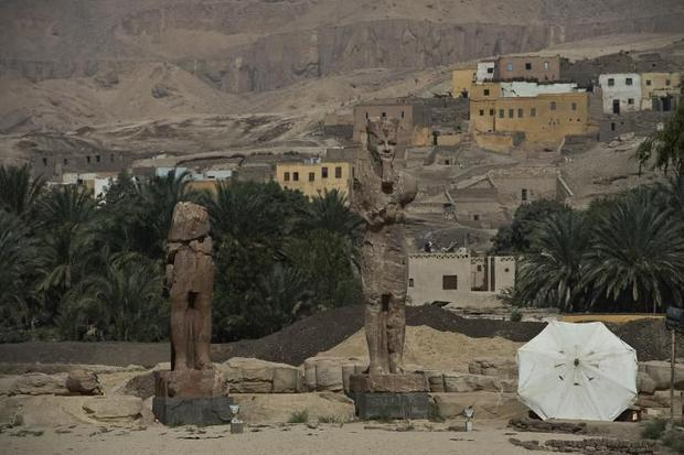 Two More Colossal Pharaoh Statues Unveiled in Egypt Dce61a208d1ff8385891e780f2b4fe63902dd4b8