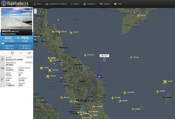 US-VIETNAM-MALAYSIA-AVIATION-ACCIDENT