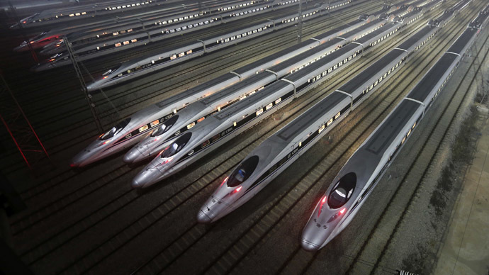 China Wants to Build High Speed Railway To US Through Siberia and Bering Strait