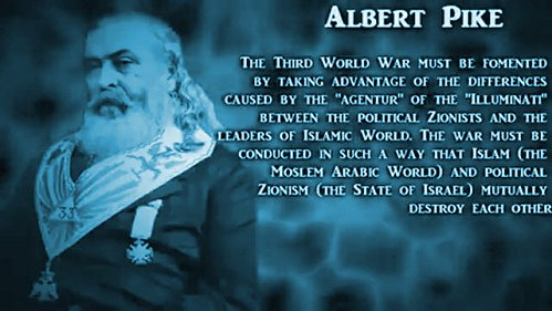 Albert Pike and Three World Wars