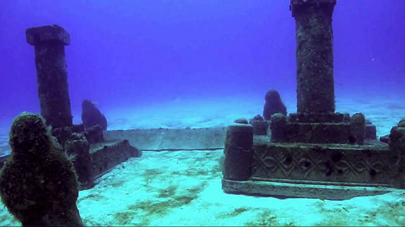 Five Mind Blowing Underwater Cities Dwarka-Gulf-of-Cambay-India