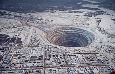 If you found our sinkholes galley interesting, here's a hole for the record books. The  Kola Superdeep borehole in Russia is 12 264m deep! sharegoodstuffs.com