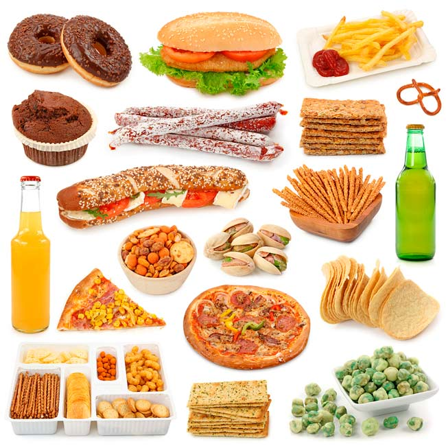 Bigstock-Junk-food-collection-isolados-54001291