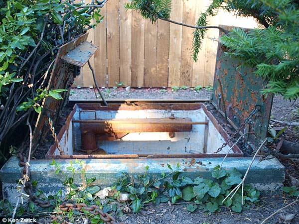 This Family Always Knew There Was A Metal Door In Their Backyard. Well, They Finally Opened It