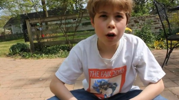 9-Year-Old Ponders the Meaning of Life and the Universe