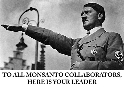 Hilter-Salute-Monsanto-Collaborators-Leader