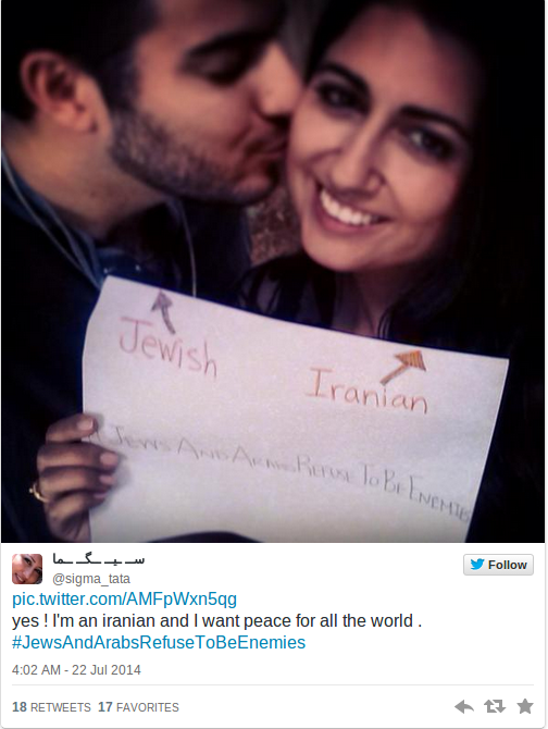 Jews and Arabs refuse to be enemies  Social media campaign goes viral  PHOTOS   RT News