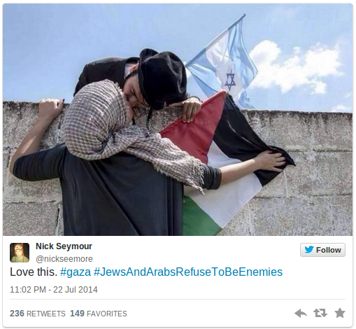 Jews and Arabs refuse to be enemies Social media campaign goes viral PHOTOS — RT News
