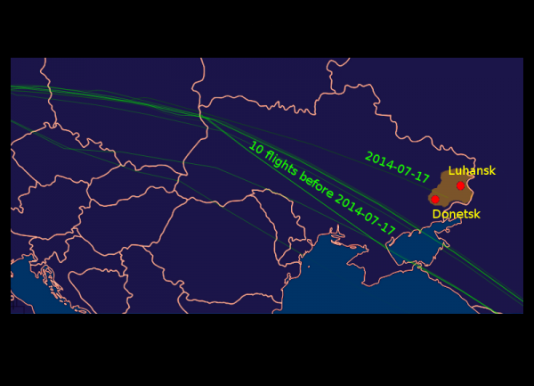 Malaysian Airlines MH17 Was Ordered to Fly Over The East Ukraine Warzone