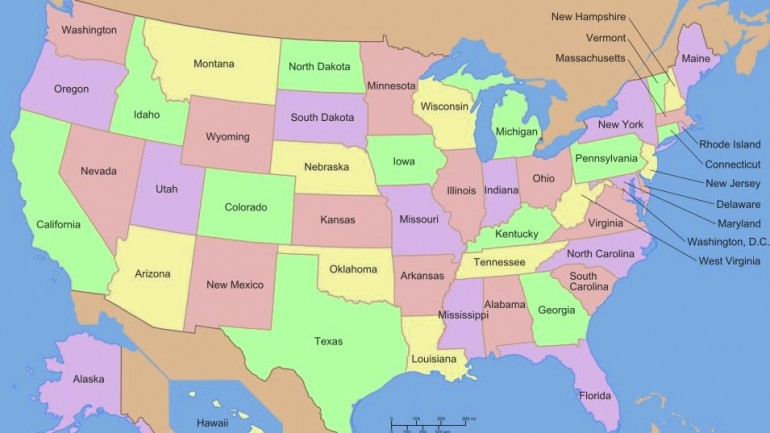 How All 50 States Got Their Names‏