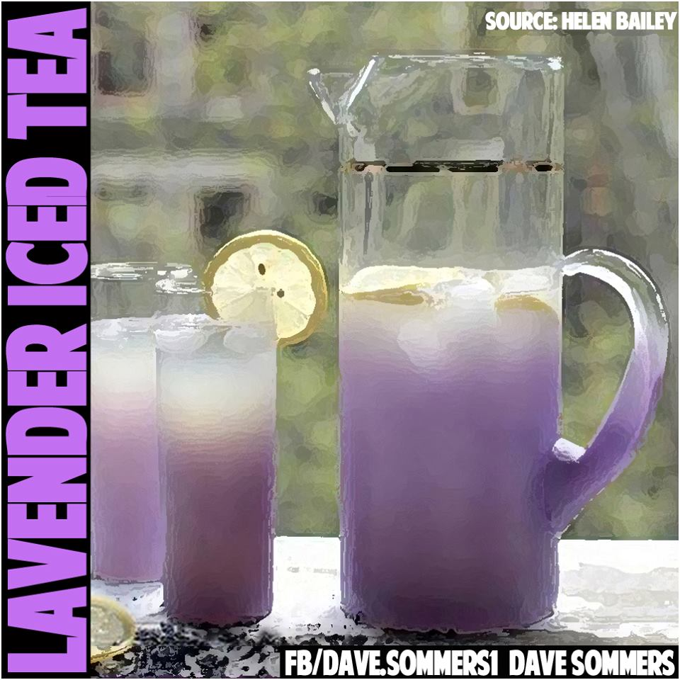 How To Make LAVENDER ICED TEA and Why You Should Be Drinking It
