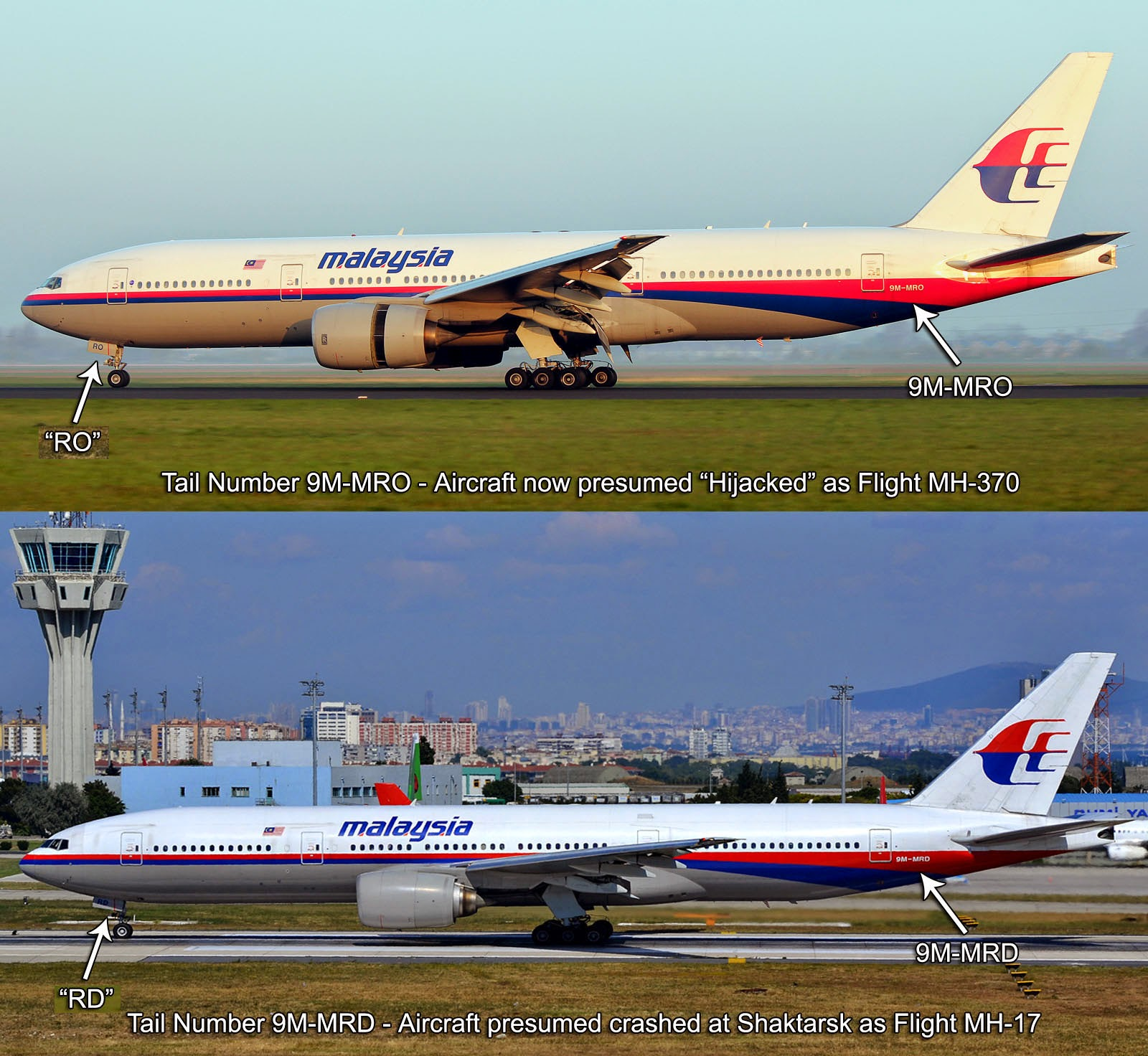 mh17 mh-370 conspiracy - the same