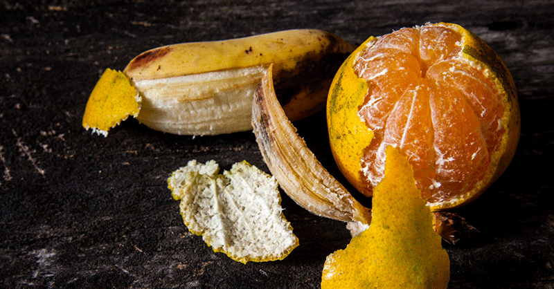 Why You Should Never Throw Away Orange or Banana Peels