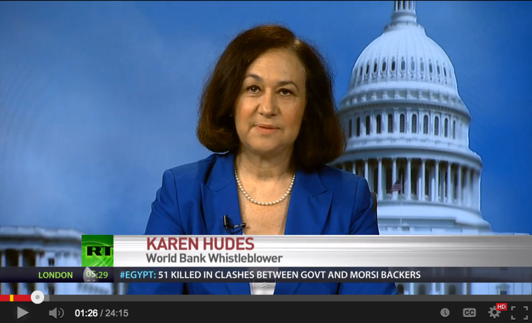 World Bank Whistleblower Karen Hudes Reveals How The Global Elite Rule The World