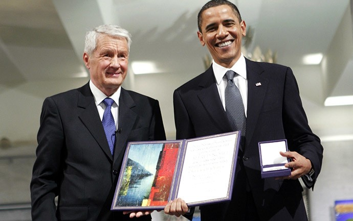 Veteran Russian Nationalist Demands Obama be Stripped of Nobel Peace Prize