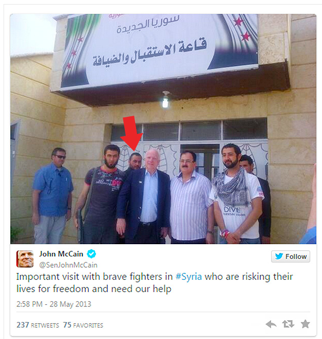 EXPOSED  ISIS Roared To Power Months After Secret Meeting With John McCain  PHOTOS    Now The End Begins   Now The End Begins
